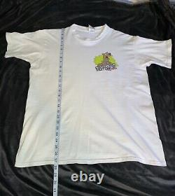 Vtg 90s Cartoon Network Scooby Doo Wacky Racing T Shirt Mens Size L Nascar