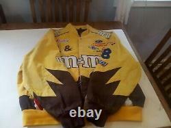Vtg Nascar M&M Elliot Sadler #38 Racing Jacket Size Xl