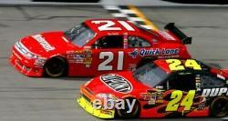 Wood Brothers Racing Autographed Bill Elliott Race Used Sheet Metal NASCAR #21
