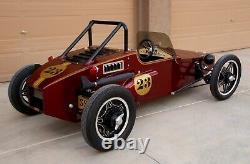 1980 Replica/kit Fait Oldtimer Speedster Comme Lotus 7 Honda 450 2 Glucides 5 Vitesses