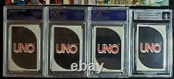 1983 Uno Racing Jeu De Cartes Avec Richard Petty Et Dale Earnhardt Rookie Rc Psa 9 Monnaie