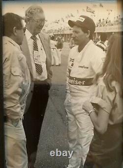 1987 Dale Earnhardt Sr Race Worn Iroc Occasion Racing Drivers Suit Feu Nascar