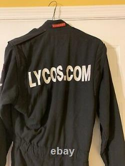 1998 Matt Kenseth Autographied Race Lycos D'occasion Nascar Rookie Firesuit Driver Suit