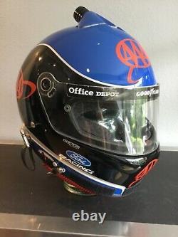 2005 Carl Edwards, Nascar Race Autres / Usés Casque Pilotes De Bell, Roush Fenway Ford