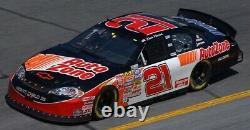 2007 Kevin Harvick #21 Busch Series Race Used Nascar Sheetmetal Hood