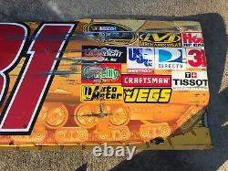 2009 Jeff Burton #31 Caterpillar Rcr Nascar Race Used Sheet Metal Door Panel