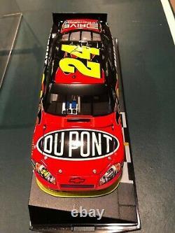 2011 Jeff Gordon #24 Dupont Pocono Course Gagner 124 Nascar