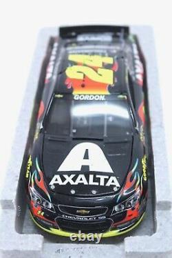 2014 Jeff Gordon #24 Axalta Indy Win A Couru 124 Diecast Voiture Chevrolet Ss Elite