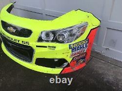 2017 Dale Earnhardt Jr #88 Nascar Race Used Feuilletmetal Bumper Final Season