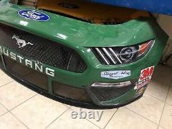 2020 Clint Bowyer One Cure Stewart Haas Nascar Race Usagé En Tôle 14 Nez