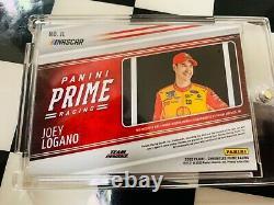 2020 Panini Chronicles Prime Joey Logano Race-used Jumbo Patch Sunoco 1/1 Carte