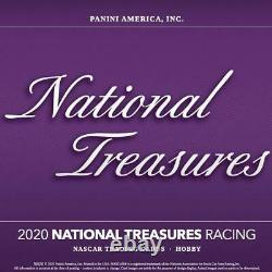 2020 Panini National Treasures Nascar Racing Hobby Box Produit Scellé
