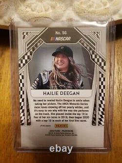 2020 Panini Prizm Blanc Prizm- #56 Hailie Deegan 5/5 Rare Sp Ssp Ebay1/1