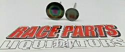 2.200 Et 1.610 Ensemble De Vannes En Titane Ro7 Chevy Race Nascar Del West Oval 042219-16