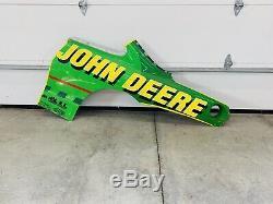 # 97 Tchad Petite Nascar Feuille D'occasion Métal John Deere Autographié Ford-roush