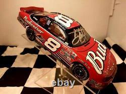 Autographed Dale Earnhardt Jr 2002 Talladega Black Trunk Raced Version Gagnez Elite