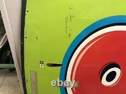 Bill Elliot Toy Story Nascar Utilisé Sheetmetal Autographié