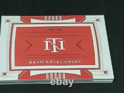 Brad Keselowski 2020 Trésors Nationaux 1/1 Booklet Logo Patch Auto Firesuit
