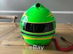 Brian Vickers Nascar Usagé Worn Casque Hendrick Motorsports De Bell Cup Series