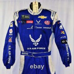 Bubba Wallace Petty Air Force Race Used Nascar Pit Crew Fire Suit #6741