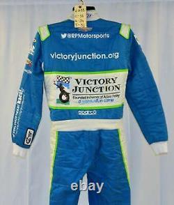 Bubba Wallace Petty Victory Junction Gang Race Utilisé Nascar Driver Suit #6688
