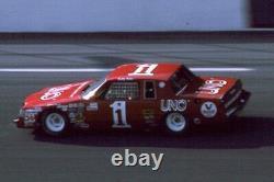 Buddy Baker 1981-83 Uno Nascar Race Utilisé Winston Cup Sheetmetal Trunk LID