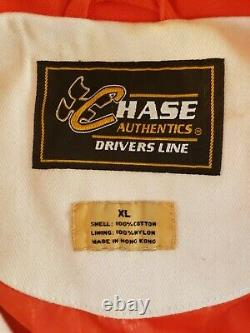 Chase Authentics Drivers Line Tide Racing Nascar Button Jacket Taille Adulte XL