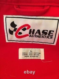 Chase Authentics Vintage Rainbow Nascar Veste Dupont Jeff Gordon Size Large