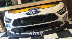 Chase Briscoe Shr 98 Ford Mustang Cobra Nascar Course Utilisé Nez En Tôle