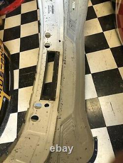 Chase Briscoe Shr 98 Ford Mustang Cobra Nascar Race Utilisé Nez De Tôle