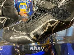 Chase Elliott Autographed Race Used Drivers Chaussures Du Champion Nascar 2020