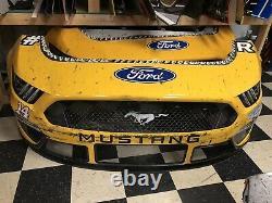 Clint Bowyer Charlotte Coke 600 Stewart Haas Nascar Race Used Sheetmetal Nose