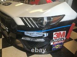 Clint Bowyer Peak Stewart Haas Nascar Race Used Feuilletmetal 14 Nez