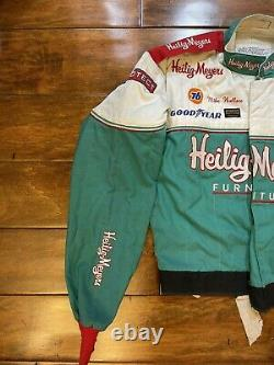 Course D'occasion Mike Wallace #90 Heilig Meyers Racing Driver Worn Fire Jacket Nascar