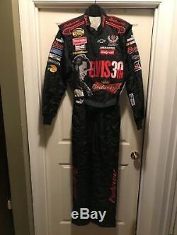 Dale Earnhardt Jr Budweiser / Elvis Nascar Race Driver Utilisé Suit Richmond 2007 Dei