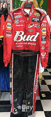 Dale Earnhardt Jr. Budweiser Nascar Nextel Dei Race Utilisé Pit Crew Firesuit