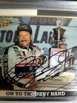 Dale Earnhardt Sr Autographié 1994 Action Packed Jeff Gordon Signé Jsa Cards