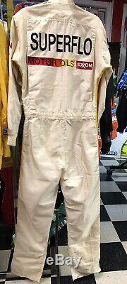 Darrell Waltrip 1990 Superflo Nascar Pilotes D'occasion Firesuit Autographiés