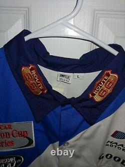 Darrell Waltrip Nascar Course Utilisé 2000 Kmart Pit Crew Shirt Pantalon Uniforme Route66