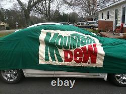 Darrell Waltrip Vintage Race Occasion Car Cover Mountain Dew 11 Nascar Waltrip Franchisé