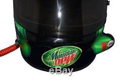 Dédicacées 2005 Kahne # 9 Kasey Mountain Dew Race-occasion Casque Nascar Avec Micro Hans