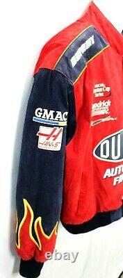 Jeff Gordon Veste Nascar Racing Dupont Winston Cup Chase Jh Design XL Cuir