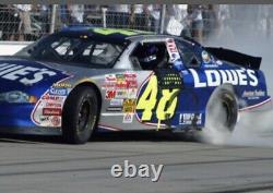 Jimmie Johnson 2002 Rookie Lowes #48 Nascar Race Panneau De Porte En Tôle D'occasion