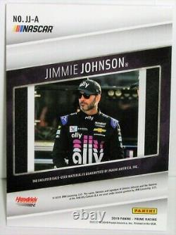 Johnson = Jimmie 2019 Panini = Prime Jumbo / Materiel Race-used = 1 De 1 Carte