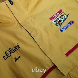 Jordan F1 Benson & Hedges Veste Large Vintage Nascar F1 Motorsport Racing