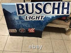Kevin Harvick #4 Buschhhhhh Light Nascar Race Used Sheetmetal 2020 Qtr Panel