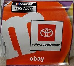 Kyle Busch 2020 Michigan Race Utilisé M&m #18 Toyota Sheet Metal Joe Gibbs Racing