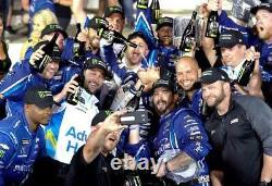 Kyle Larson 2019 Nascar Monster Energy Allstar Race Signé Win Bottle