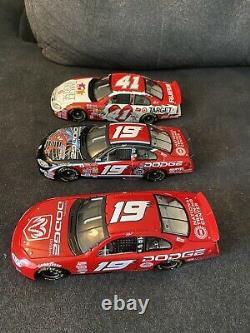 Lot De 13 Nascar 1/24 Diecast Racing Champions Tout Avec Box Dodge Ford 2001 2003