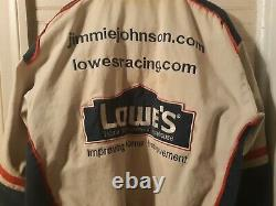 Lowes Racing 5 Fois Champ Jimmie Johnson #48 Manteau Hommes. Utilisé